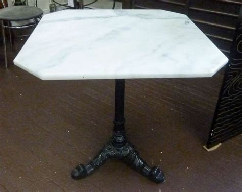 marble top cafe table pin by patina design on dt table options