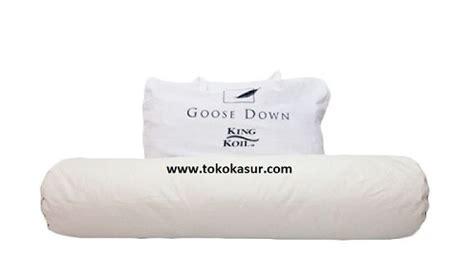 Guling Florence guling king koil goose bulu angsa 1500 gram toko kasur bed murah simpati furniture