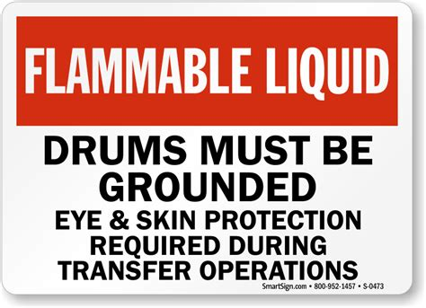 do flammable cabinets need to be grounded