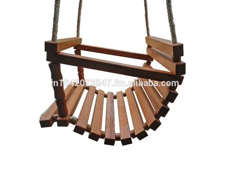 wooden child swing handmade wooden baby swing buy wooden baby swing product