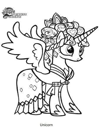 Download Gambar Unicorn Untuk Mewarnai - Paimin Gambar