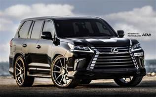 Lexus Lx Lexus Lx570 On 26 Adv1 Wheels