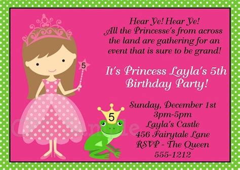 princess and the frog invitations printable princess and the frog birthday invitations printable or printed