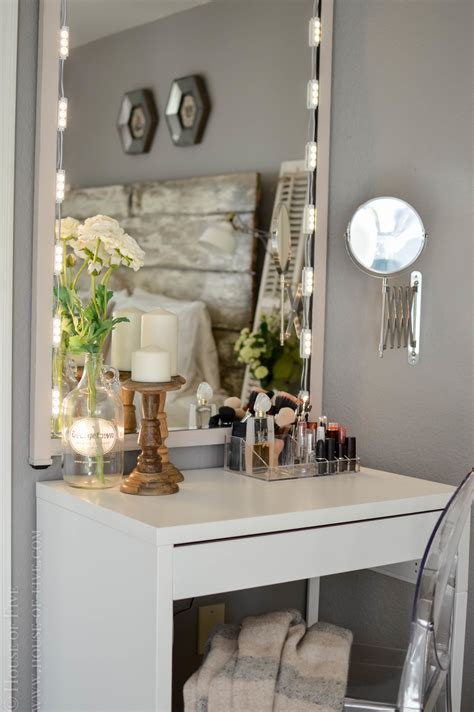 Vanity Organizer Ideas diy vanity house of five