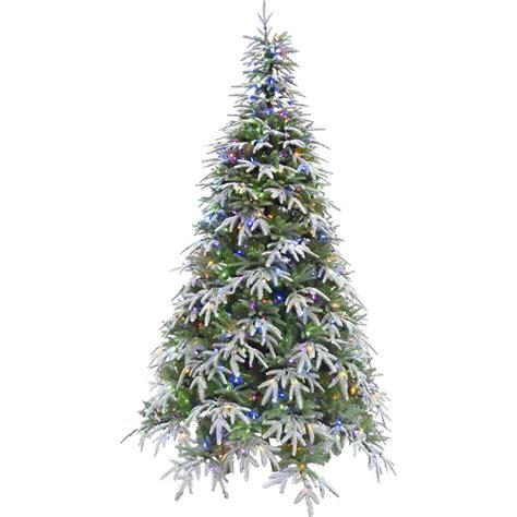 ez light tree ge 7 5 ft just cut noble fir ez light artificial