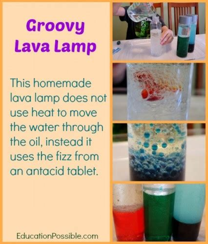 Lava L Science Fair Project by Groovy Science Activity Make Your Own Lava L
