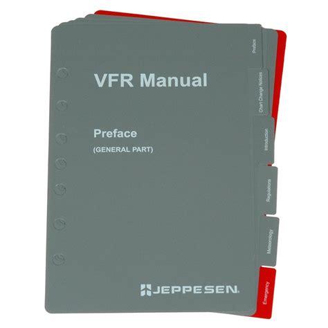 vfr sectionals jeppesen vfr manual sectional tab inserts jeppesen from