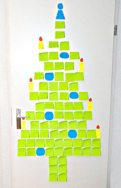 post it christmas tree 70 best post it note images on post it sticky notes and projects