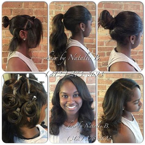 perfect smount of leave out for sew in weave versatility perfect pony sew in hair weaves by natalie