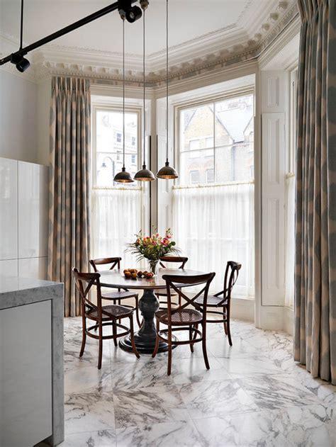 victorian dining room  marble floors design ideas