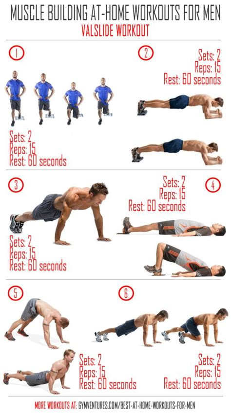 effective at home workouts for valslide workout
