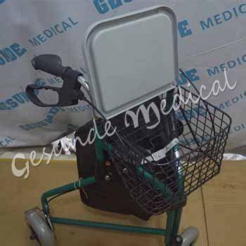 Kesehatan Jual Tas Untuk Membawa Menyimpan Kursi Roda alat bantu jalan pakai roda rollator tiga roda toko