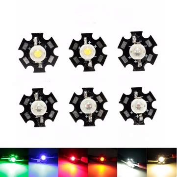 1w high power led pcb bulb beads chips car indoor reading