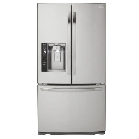 Countertop Depth Fridge by Lg Electronics 19 8 Cu Ft Door Refrigerator In