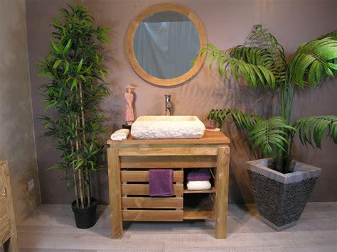 Charmant Plante Dans Salle De Bain #5: ori-meuble-de-salle-de-bain-en-teck-zen-85cm-miroir-446.jpg