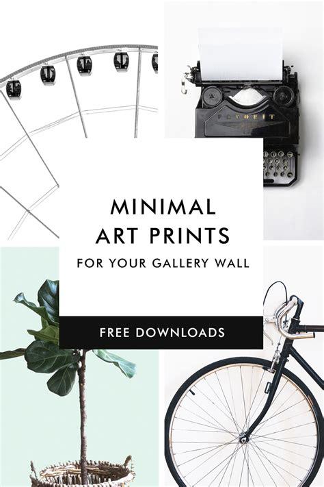 fill pattern ne demek 6 free minimal art prints to fill your gallery wall