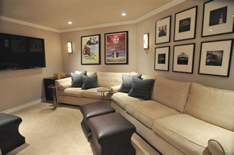 soundproof curtains small home theater design ideas brown
