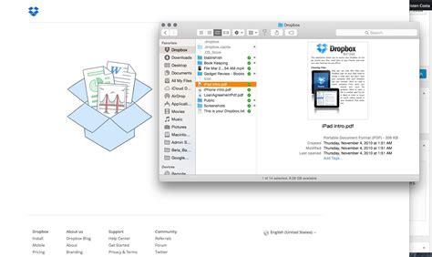 dropbox mac how does dropbox work
