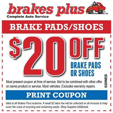 brakes brake pads brake service repair brakes plus
