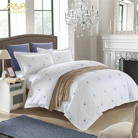 hotel style bedding romorus beautiful hotel style bedding set 100 cotton
