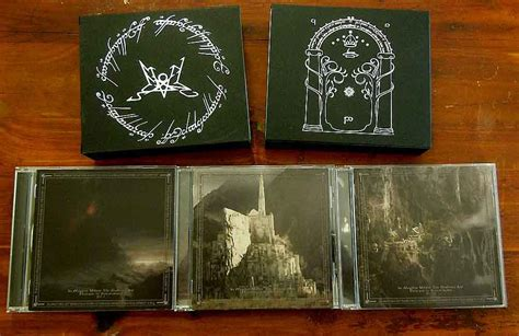 Cd Black Metal Bvrtan Boxset in mordor where the shadows are homage to summoning 3cd box age productions