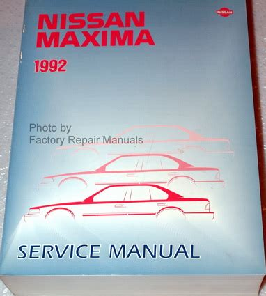 car repair manual download 1992 nissan maxima spare parts catalogs service manual how to download repair manuals 1995 nissan maxima free book repair manuals