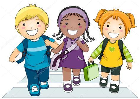 imagenes niños que van ala escuela ni 241 os van a la escuela foto de stock 169 lenmdp 7602477