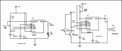 Motion Detector Light Bulb Motion Detector Circuit Using Ir Sensor 555 Working With