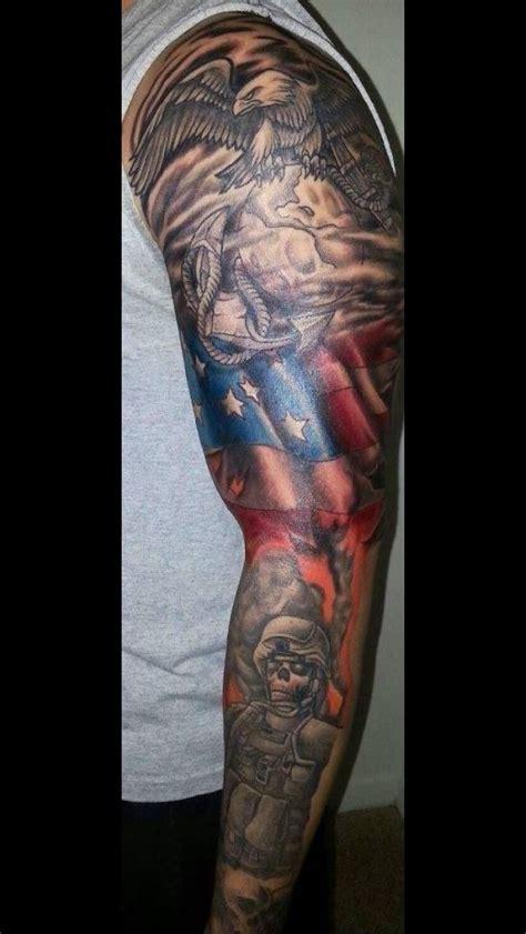 army sleeve tattoo marine tats tattoos tattoos