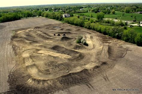in the air with mx track builders racer x