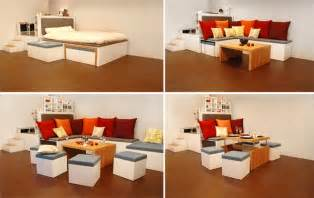 Furniture For Small Rooms by Matroshka Furniture Compact Living Furniture Perfect For