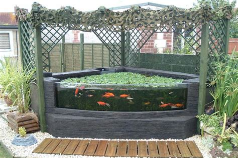 Hemispheres Home Decor garden pond viewing window leaders in aquarium technology