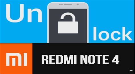 pattern unlock mi note 4 redmi note 4 factory reset to remove pattern lock pin