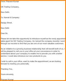 3 business email self introduction introduction letter