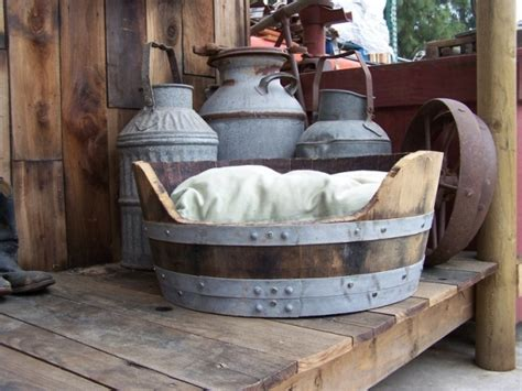 Wine Barrel Bed by Recycled Wine Barrel 31 Diy Pet Beds For Your