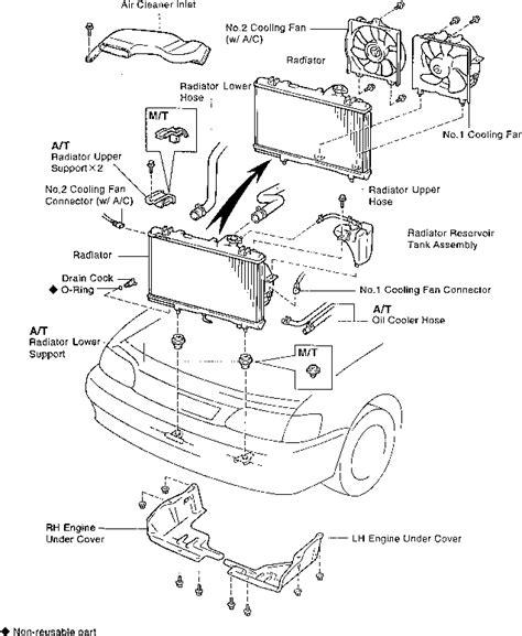 motor repair manual 1996 toyota tercel parking system 1996 toyota tercel engine diagram automotive parts diagram images