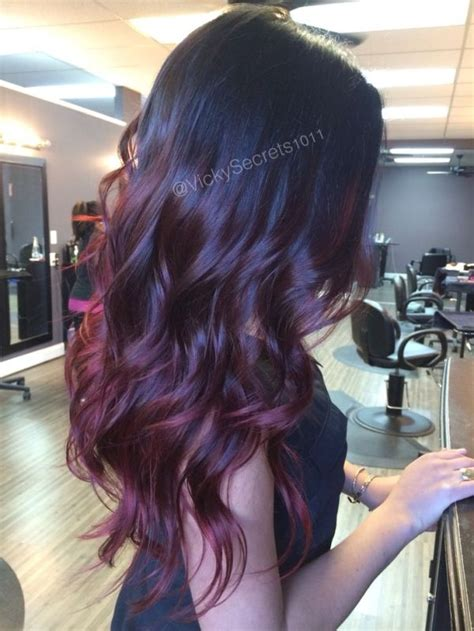 pinterest rich violets reds browns long hair 1000 ideas about red violet hair on pinterest violet