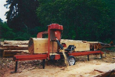 wooden sawmill review my largest band saw the wood mizer lt40 hd