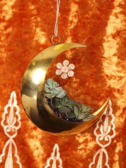 golden moon planter invokethespirit hanging planters