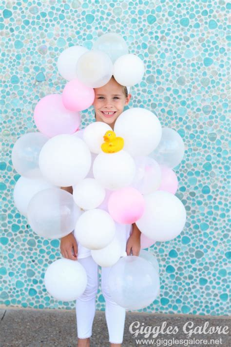 bathtub costume diy bubble bath halloween costume