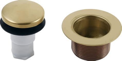 bathtub stopper assembly faucet com rp31558cz in chagne bronze by delta