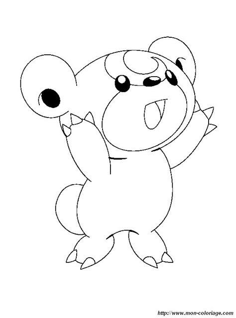 coloring pokemon bear pokemon