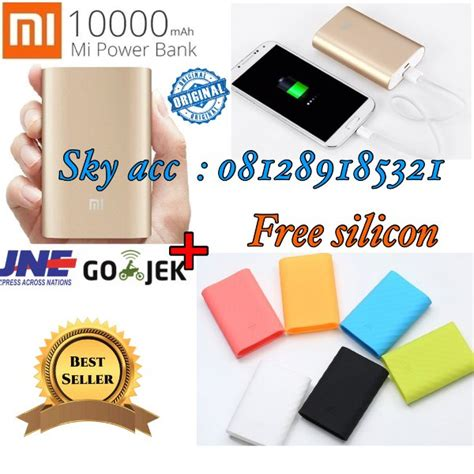 Terlaris Promo Powerbank Xiaomi 10000mah Small Original jual promo powerbank xiaomi 10000mah small original gold
