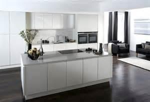 Designer Kitchens Uk Silver Kitchen Units