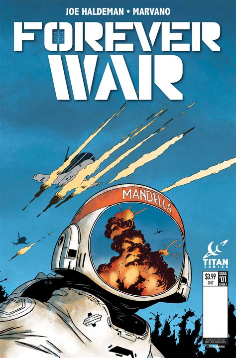 The Forever titan comics reveals forever war bounding into comics