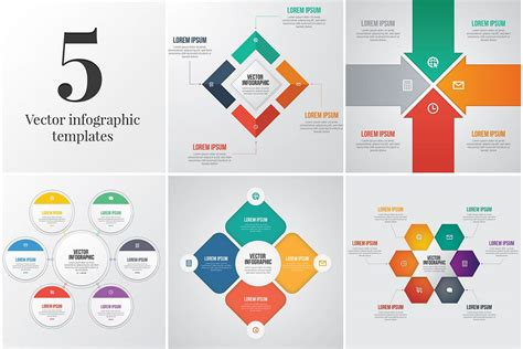 5 Editable Infographic Templates Editable Infographic Templates