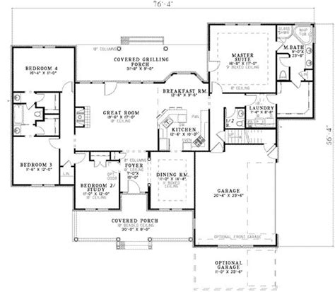 and bathroom house plans