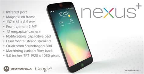 motorola nexus plus handset concept is a google nexus