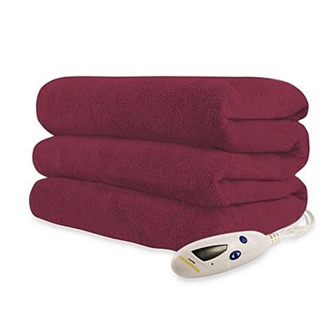 Where To Buy Heated Blankets buy biddeford blankets 174 micro plush heated throw blanket