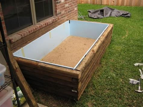 raised wooden pond google search small